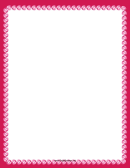 Rubies Page Border Templates