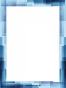 Blue Stripes Page Border Templates