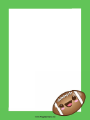 Rugby Page Border Templates