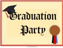 Graduation Party Lawn Sign