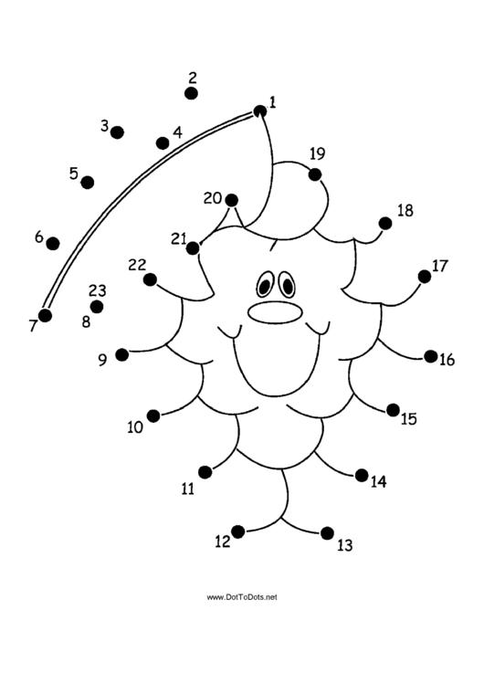 Grapes Dot-to-dot Sheet