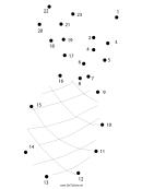 Pineapple Dot-to-dot Sheet