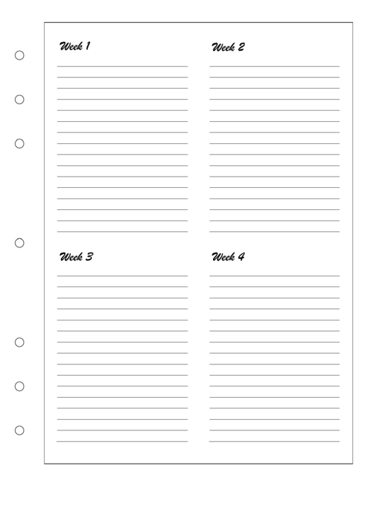 Pregnancy Journal Template