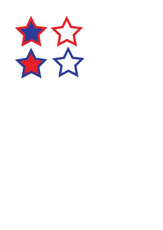 Star Stencil Template