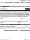 Form 8879-fid - California E-file Signature Authorization For Fiduciaries - 2013