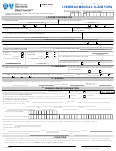 Form Cut0159-1s - Overseas Medical Claim Form (english)