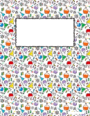 Science Binder Cover Template