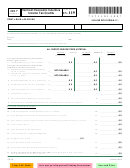 Schedule In-119 - Vermont Economic Incentive Income Tax Credits - 2017