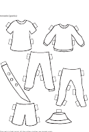 Paper Boy Canada Clothing Template