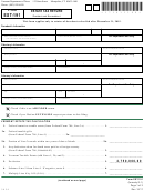Vt Form Est-191 - Estate Tax Return - Resident And Nonresident