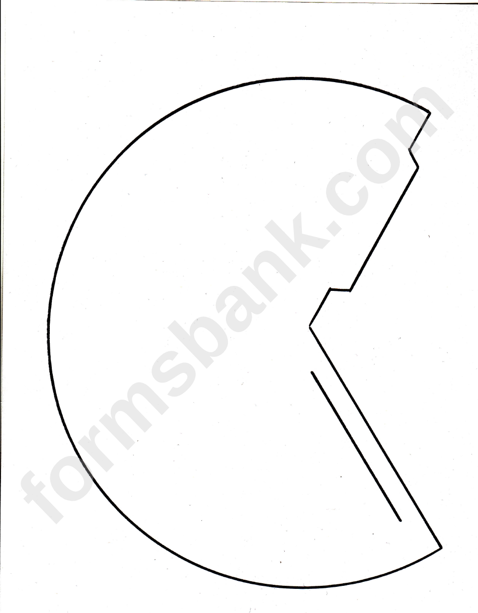 Ice Cream Cone Template Printable Pdf Download