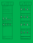 Form Ics 219-2 - T-card (green)