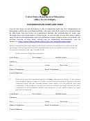 Discrimination Complaint Form - United States Department Of Education