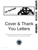 Cover And Thank You Letter Samples