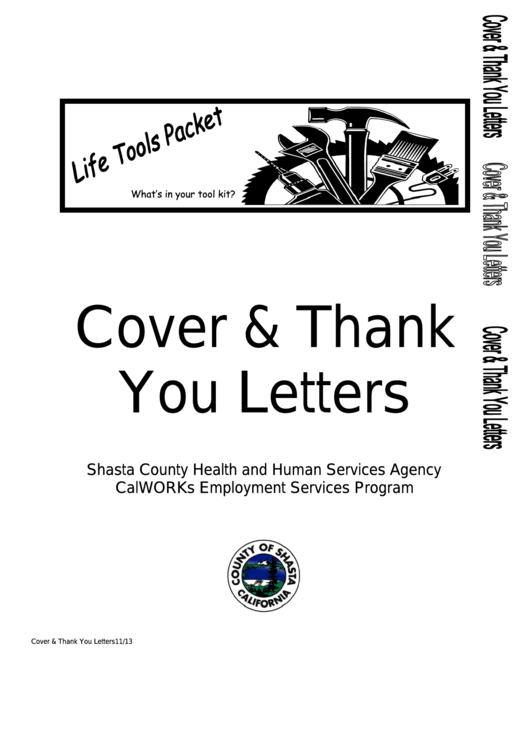 Cover And Thank You Letter Samples Printable pdf