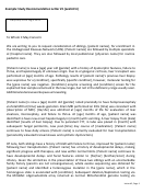 Example Study Recommendation Letter #1 (pediatric)