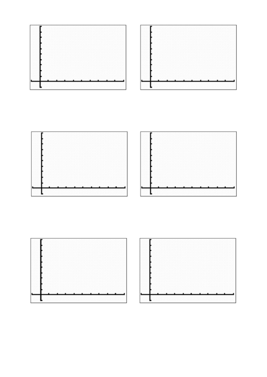 Coordinate Grid Template