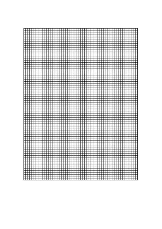 Graph Paper - 10 Lines/inch Printable pdf