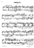 Sonate Iii Sheet Music