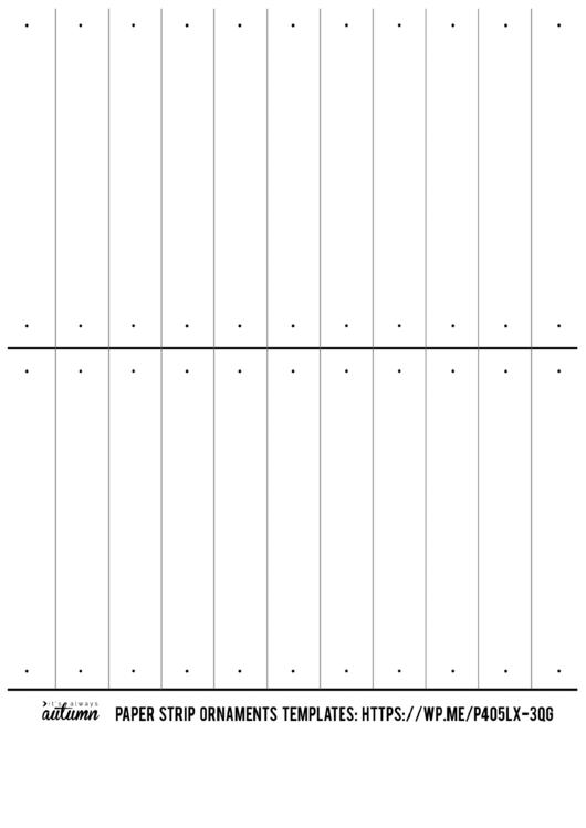 Paper strip ornament template printable pdf download paper strip ornament template maxwellsz