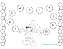 Mickey Mouse Reward Chart For Kids