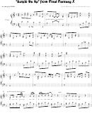 Nobuo Uematsu - Suteki Da Ne From Final Fantasy X Video Game Sheet Music