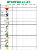 My Reward Chart Template