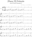 Nobuo Uematsu - Place Of Ordeals From Final Fantasy X Video Game Sheet Music