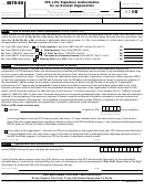 Form 8879-eo - Irs E-file Signature Authorization For An Exempt Organization - 2015