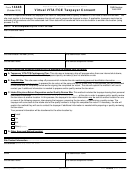 Form 14446 - Virtual Vita/tce Taxpayer Consent