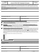 Form 14446 - Virtual Vita/tce Taxpayer Consent