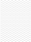 Hexagonal Grid Paper - 5 Hexes Per Square Inch