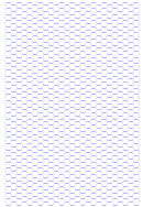 Hexagonal Grid Paper Template