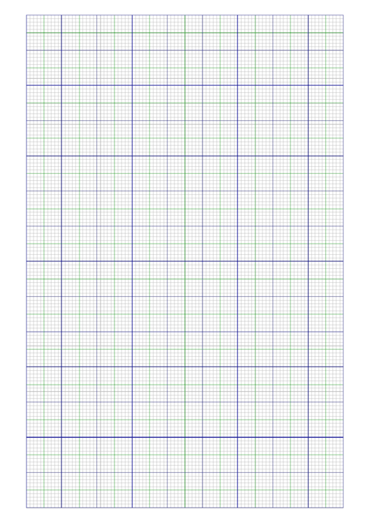 Multi-Color Graph Paper Template Printable pdf