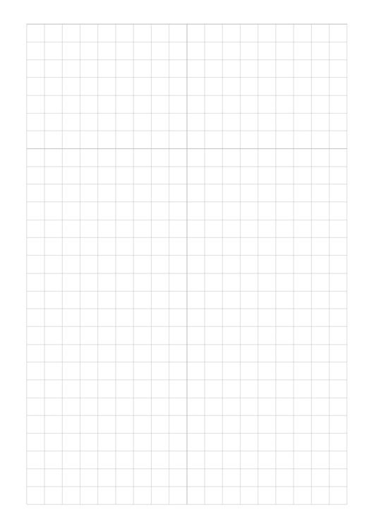 Plain Graph Paper Template Printable pdf