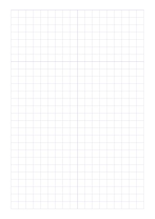 Plain Blue Graph Paper Template Printable pdf