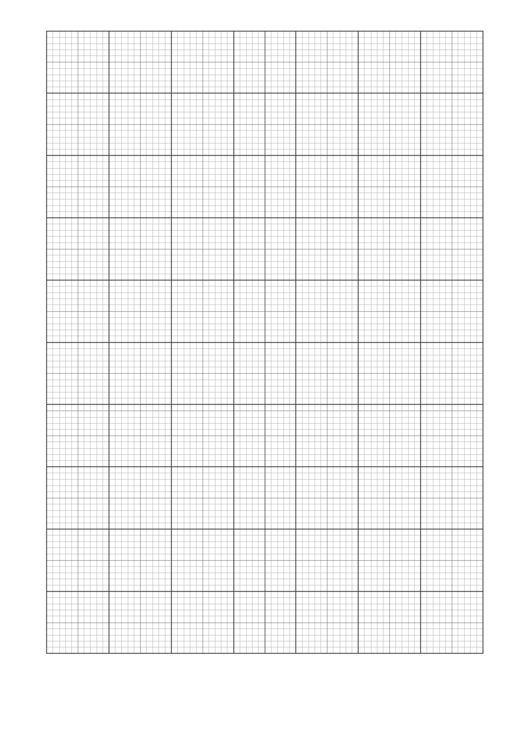 Multi-Color Graph Paper Template Printable pdf