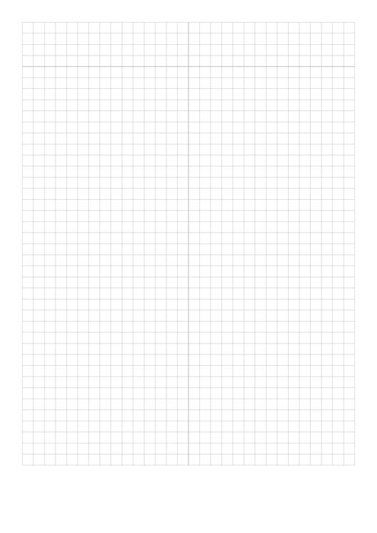 Plain Grey Graph Paper Template Printable pdf