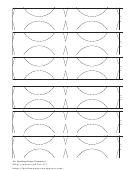 Spiral Paper Ornament Plain Template