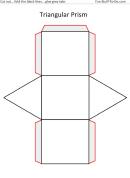 Triangular Prism Templates