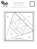 Jewel Puzzle Block Template