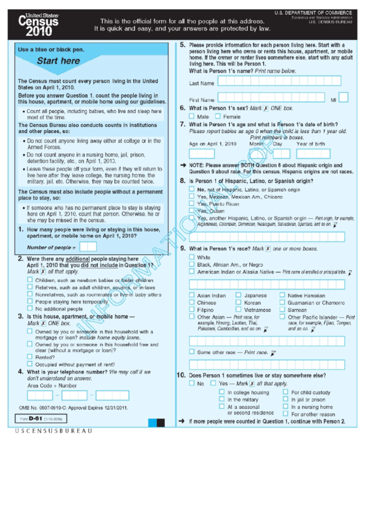 Top 13 Unsorted Census Forms And Templates free to download in PDF