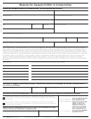 Form 13711 - Request For Appeal Of Offer In Compromise