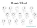 Flowers Reward Chart