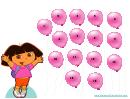 Air Balloons Reward Chart For Kids