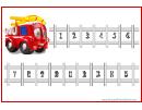 Fire Truck 15 Steps Reward Chart For Kids
