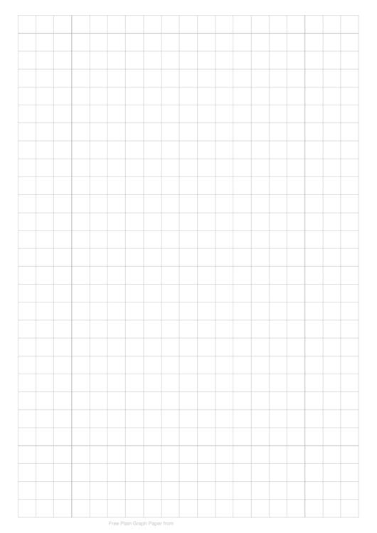 10mm Plain Graph Paper Printable pdf