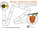 Bumblebee And Hive Music Practice Chart