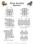 Classroom Team Seating Chart