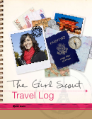 The Girl Scout International Troop Travel Log Template